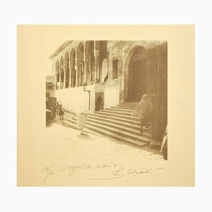 Zitouna Mosque - Tunisiaca - Original Photolithograph by Bettino Craxi - 1996 1996