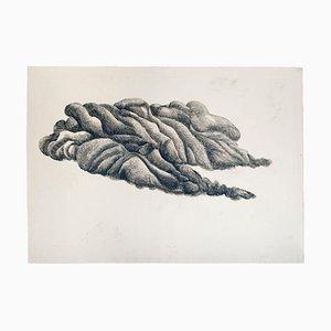 Black Cloud - Original Etching by Giacomo Porzano - 1972 1972