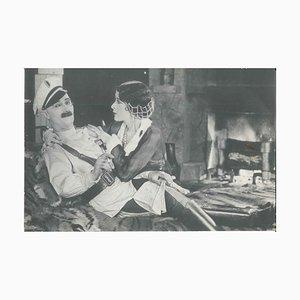 Foto di Ben Turpin e Thelma Hill, probabilmente di '' A Prodigal Bridegroom '' 1926 1926