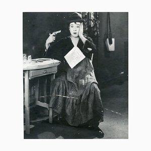 Bild von einem Set mit Harry Langdon - 1930 circa 1926
