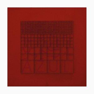 Azul - Original Screen Print by Bruno di Bello - 1980 ca. 1980 ca.
