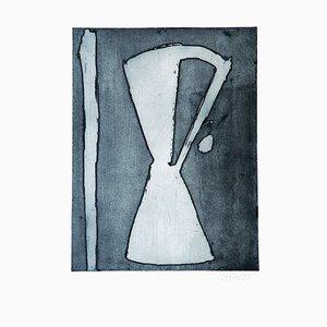 Hourglass - 20th Century - Sante Monachesi - Etching - 1970 ca. 1970 ca.