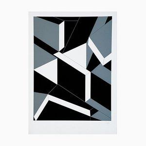 Geometry - Original Screen Print by N. Frascà - 1975 1975
