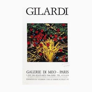 Vintage Poster Gilardi Exhibition at Galerie Di Meo, Paris - 1991 1991