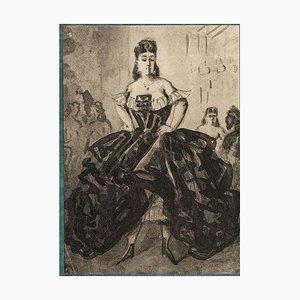 La Danseuse - Heliogravure Nach C. Männer - Frühes 20. Jahrhundert Frühes 20. Jahrhundert