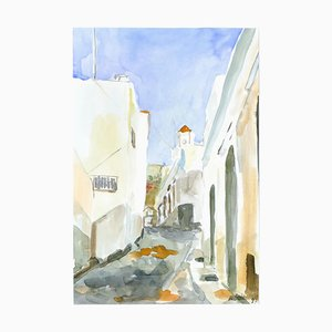 A Summer Road - Original Watercolor by Armin Guther - 1997 1997