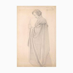 Nobleman - Original Pencil Drawing - Early 20th Century Early 20th Century