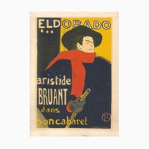 Eldorado - Original Litho Nach H. de Toulouse-Lautrec 1951