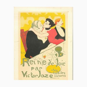 Reine de Joie - Original Litho After H. de Toulouse-Lautrec 1951
