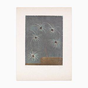 Spiroflora - Original aguafuerte y aguatinta de JJJ Rigal - 1971 1971