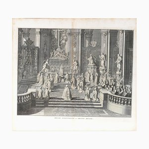Messe Solennelle - Original Etching by by B. Picart - 1725 1725