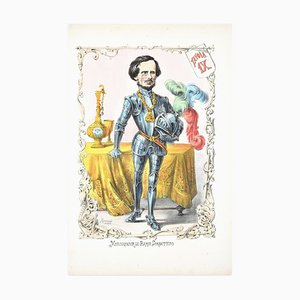 Monsegneur Le Baron Sorbettino - Lithographie von A. Maganaro - 1872 1872