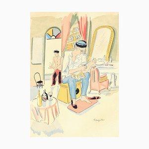 Arts and Crafts - Original Lithograph by L.T. Foujita - 1928 1928