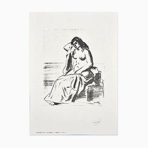 Lithographie Modèle par Alberto Salietti - 1930 1930