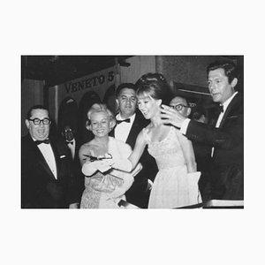 Federico Fellini, Giulietta Masina und Marcello Mastroianni - Photo - 1960s 1960s