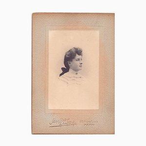 Vintage photo portrait by Studio Seambart & Andrè - Paris 1910s 1910s