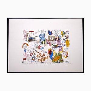 Composition - Original Etching 1974 1974