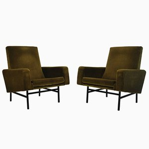 Model 645 Armchairs by ARP for Steiner, 1955, Set of 2
