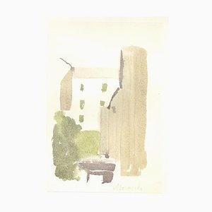 Glimpse - Vintage Offset Druck nach Giorgio Morandi - 1973 1973