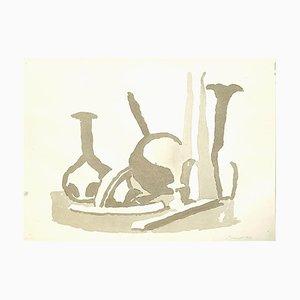 Still Life Composition - Vintage Offset Print after Giorgio Morandi - 1973 1973