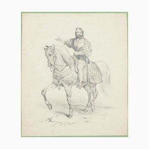 Rider - Original Lithograph - 1841 1841