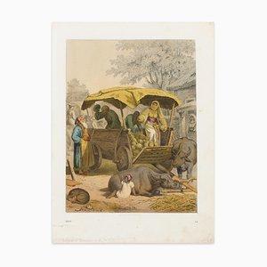 A Moorish Market Scene - 1866