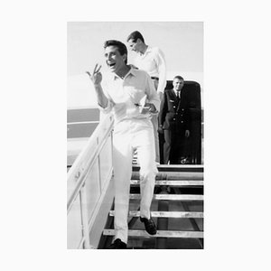 Gilbert Bécaud Vintage Photo - Early 1970s Early 1970s