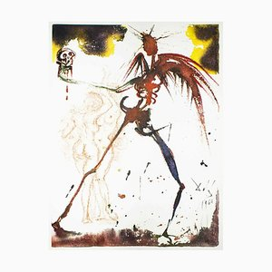 Illustration from ''Pater Noster'' - Original Lithograph by Salvador Dalì - 1966 1966