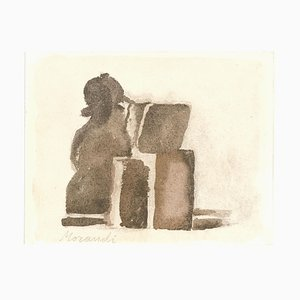 Still Life - Vintage Offset Print after Giorgio Morandi - 1973 1973