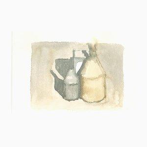 Still Life - Vintage Offset Druck nach Giorgio Morandi - 1973 1973