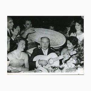 Bob Hope Singing - Original Vintage Photograph - 20th Century 20th century