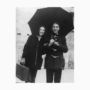 Dustin Hoffman in Italien - Vintage Photographie von Pietro Germi - 1972 1972
