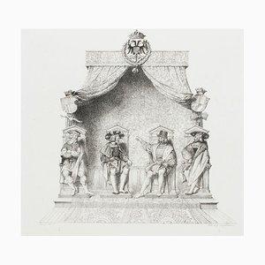 Assembly - Original Lithographie auf Papier von G. Engelmann - 1825 1825