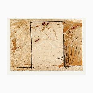 Jambs - Vintage Offset Druck nach Antoni Tàpies - 1982 1982