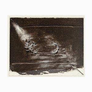 Klammer - Vintage Offsetdruck nach A. Tapiès - 1982 1982