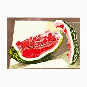 Lithographie Watermelon - Renato Guttuso - 1982 1982