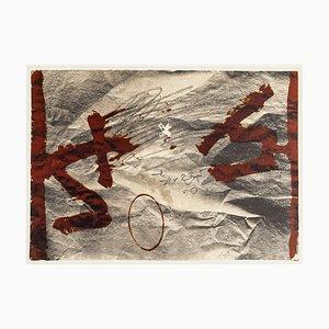 Stiff Effect - Vintage Offset Druck Nach Antoni Tàpies - 1982 1982