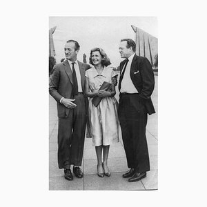 David Niven with Rita Hayworth - Original Vintage Photograph - 1950s 1950s