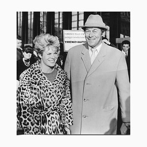 Rex Harrison and his Wife Rachel Roberts - Vintage Photograph - 1960s 1960s