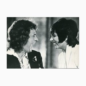 Dudley Moore and Liza Minnelli - Original Vintage Photograph - 1981 1981