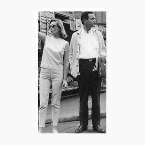 Jack Lemmon and Felicia Farr - Photographie Vintage - 1962 1962