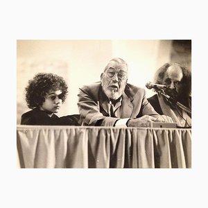 Der amerikanische Regisseur John Huston - Original Vintage Fotografie - 1980er 1980er