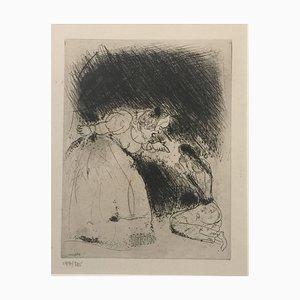 """La Femme du Gouverneur Gronde sa Fille - Aus der Serie """"Les Ames Mortes"""" 1923-1927"""