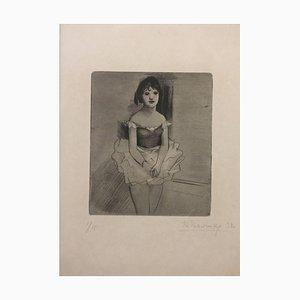Dancer - Original Radierung von Theodore Stravinsky - 1932 1932