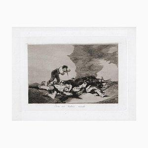 Para es Habeis Nacido - Original Etching by Francisco Goya - 1863 1863