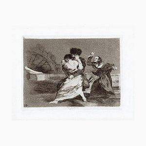 No Quiren - Original Radierung von Francisco Goya - 1863 1863