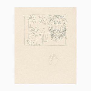 Gravure à l'Eau-Forte d'un Homme et une Femme par Pablo Picasso - 1930 1930