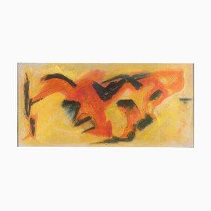 Fuchsjagd - Abstrakter Ausdruck - Ölgemälde 2011 2011