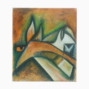Peinture Tête de Cheval 2015 par Giorgio Lo Fermo 2015