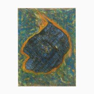 The Last Meteorite - Oil Painting 1998 by Giorgio Lo Fermo 1998